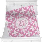 Fleur De Lis Minky Blanket (Personalized)