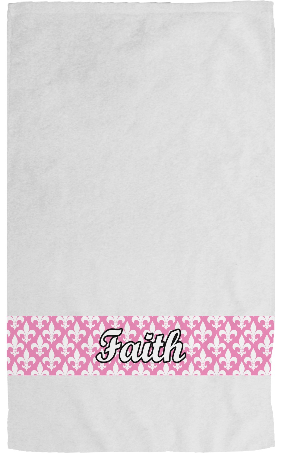 Go For It Embroidery Fleur De Lis Saints Bath Towels