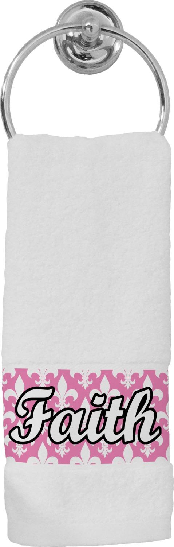 Fleur De Lis Hand Towel Personalized Youcustomizeit