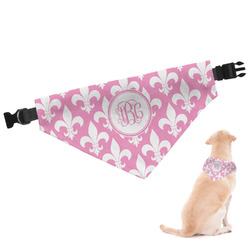 Fleur De Lis Dog Bandana (Personalized)