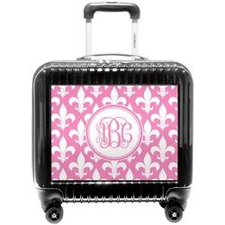 Fleur De Lis Pilot / Flight Suitcase (Personalized)