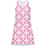 Fleur De Lis Racerback Dress (Personalized)