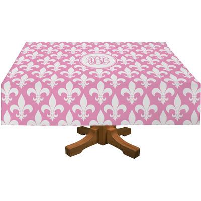 """Fleur De Lis Tablecloth - 58""""x102"""" (Personalized)"""