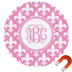 Fleur De Lis Car Magnet (Personalized)