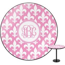 Fleur De Lis Round Table (Personalized)