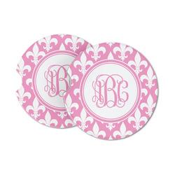 Fleur De Lis Sandstone Car Coasters (Personalized)