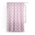 Fleur De Lis Sheer Curtains (Personalized)