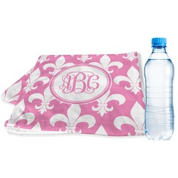 Fleur De Lis Sports Towel (Personalized)