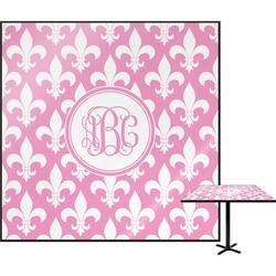 Fleur De Lis Square Table Top (Personalized)