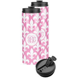 Fleur De Lis Stainless Steel Skinny Tumbler (Personalized)