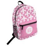 Fleur De Lis Student Backpack (Personalized)