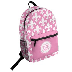 Fleur De Lis Student Backpack (Personalized)