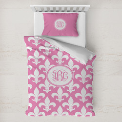 Fleur De Lis Toddler Bedding w/ Monogram