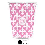 Fleur De Lis Waste Basket (Personalized)