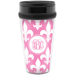 Fleur De Lis Travel Mugs (Personalized)
