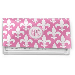 Fleur De Lis Vinyl Checkbook Cover (Personalized)