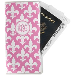 Fleur De Lis Travel Document Holder