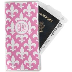 Fleur De Lis Travel Document Holder