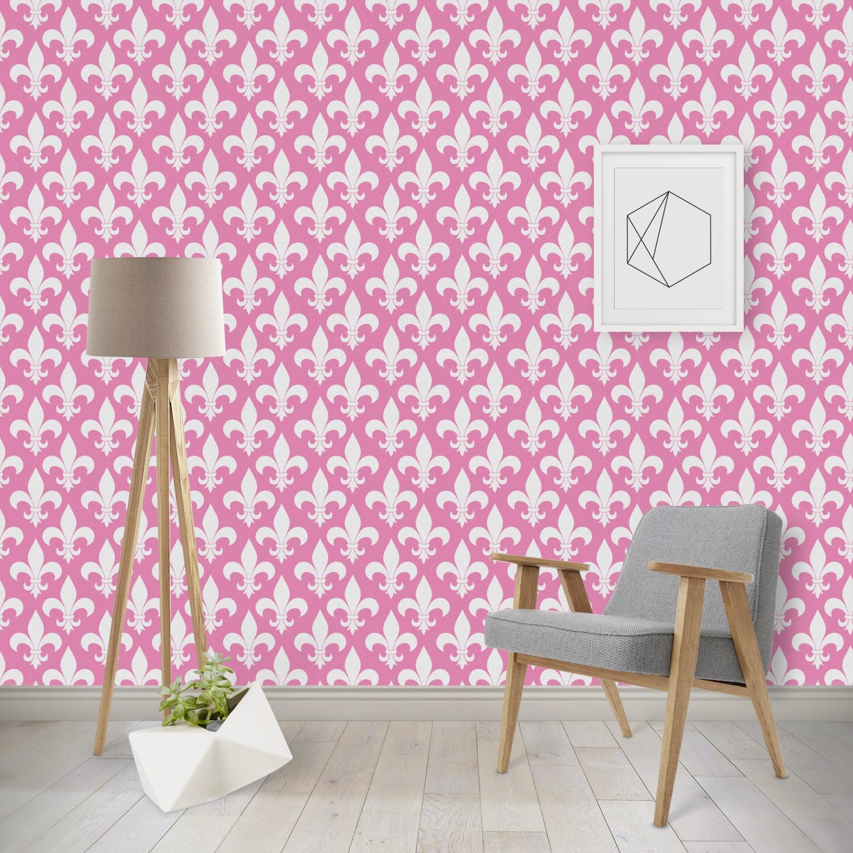 Fleur De Lis Wallpaper & Surface Covering - YouCustomizeIt