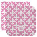 Fleur De Lis Facecloth / Wash Cloth (Personalized)