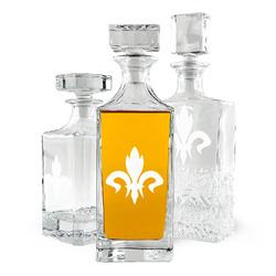 Fleur De Lis Whiskey Decanter (Personalized)