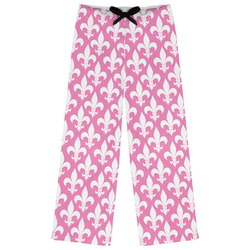 Fleur De Lis Womens Pajama Pants (Personalized)