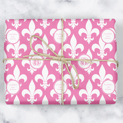 Fleur De Lis Wrapping Paper (Personalized)