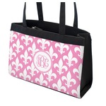 Fleur De Lis Zippered Everyday Tote (Personalized)