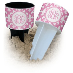 Fleur De Lis Beach Spiker Drink Holder (Personalized)