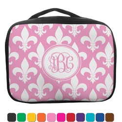 Fleur De Lis Insulated Lunch Bag (Personalized)