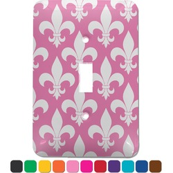 Fleur De Lis Light Switch Cover (Single Toggle) (Personalized)