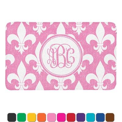Fleur De Lis Bath Mat Personalized You Customize It