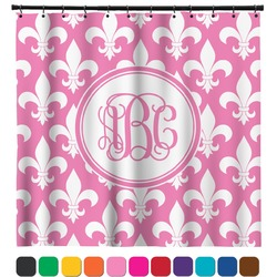 Fleur De Lis Shower Curtain (Personalized)