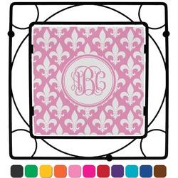 Fleur De Lis Square Trivet (Personalized)