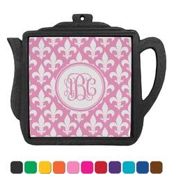 Fleur De Lis Teapot Trivet (Personalized)