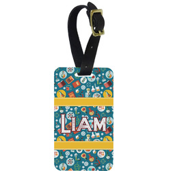 Rocket Science Aluminum Luggage Tag (Personalized)