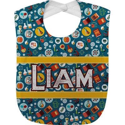 Rocket Science Baby Bib (Personalized)