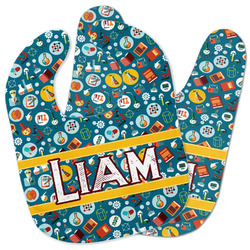 Rocket Science Baby Bib w/ Name or Text