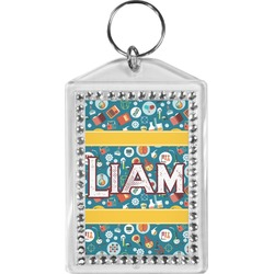 Rocket Science Bling Keychain (Personalized)