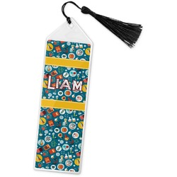 Rocket Science Book Mark w/Tassel (Personalized)