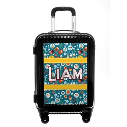 Rocket Science Carry On Hard Shell Suitcase (Personalized)