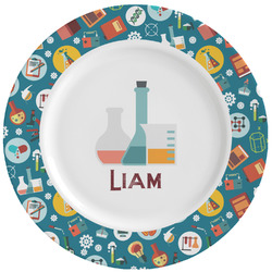 Rocket Science Ceramic Dinner Plates (Set of 4) (Personalized)