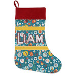 Rocket Science Holiday Stocking w/ Name or Text