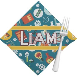Rocket Science Napkins (Set of 4) (Personalized)