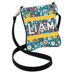 Rocket Science Cross Body Bag - 2 Sizes (Personalized)