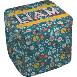 Rocket Science Cube Pouf Ottoman (Personalized)