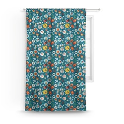Rocket Science Curtain (Personalized)