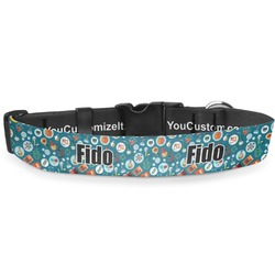 """Rocket Science Deluxe Dog Collar - Small (8.5"""" to 12.5"""") (Personalized)"""