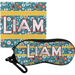 Rocket Science Eyeglass Case & Cloth (Personalized)