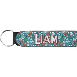 Rocket Science Neoprene Keychain Fob (Personalized)